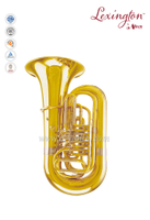 3/4 Bb Key Yellow brass Piston jinbao tuba (TU210G)