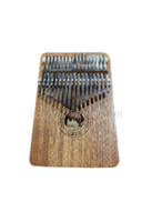 17 keys mahogany plywood body Kalimba (KLB07L-17)