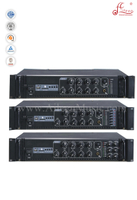 Musical Instruments 3MIC Treble Bass Public Address Power Amplifier With Chime Tips (APMP-02180BCS)