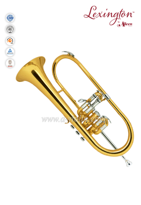 Bb Key Yellow brass Monel Piston Cupronickel jinbao flugelhorn