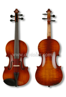 Flamed violin fiddle with case(VM140)