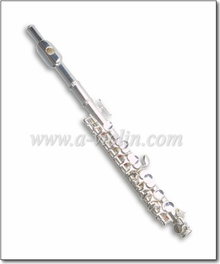 American Style Silver plated Piccolo Flute With Wooden case (PC5111S)