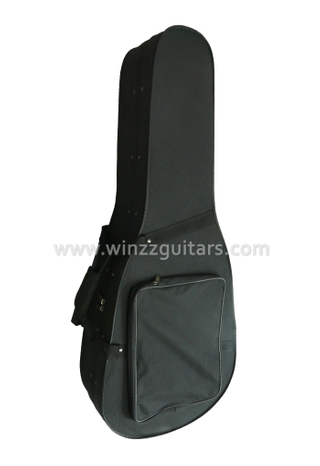 Light Oxford Cover Foam Acoustic Guitar Case (CWG001)
