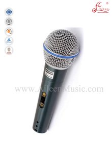 (AL-BT58A)Professional Moving-coil Metal Body Sensitivity Uni-directivity MIC Wired Microphone