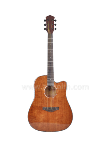 "41"" Quality die cast machine head acoustic guitar (AF486C)"