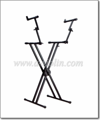 Adjustable X Style Double Keyboard Stand (MSK508)