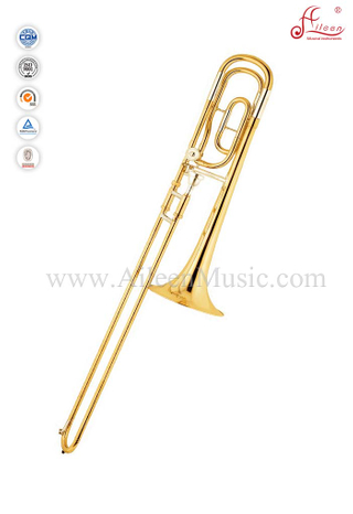 F/Bb key Gold Lacquer Tenor Trombone With Case (TB9134G)