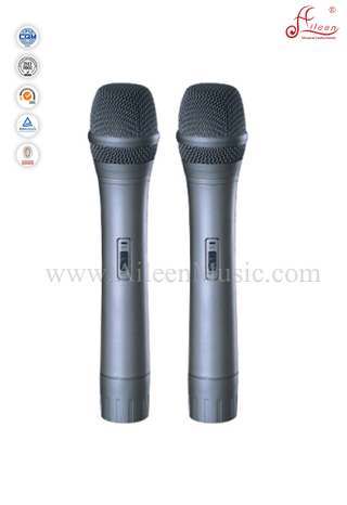 (AL-SE2063)High Grade VHF 170-270MHz Wireless Handheld Microphone Double receiver