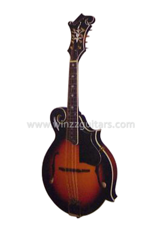 F Sound Hole Style Spruce Plywood Top Mandolin (AM09S)