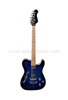 All Solid Wood F Hole Hollow Body Electric Jazz Guitar (EGJ150)