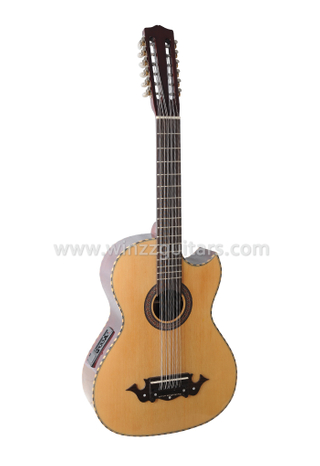 Wholesale Sharp Cutaway 12 Strings Acoustic Guitar With EQ (AFM10CE-12)