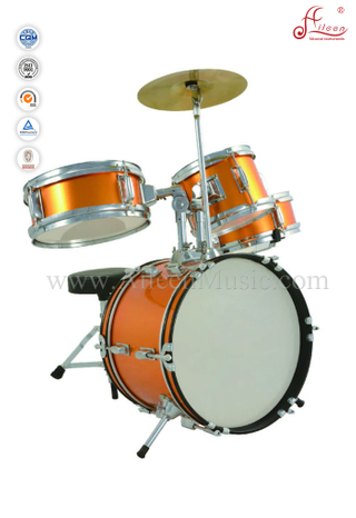 4pcs Junior Drum Set For Kids/Children Drum Set (DSET-80C)