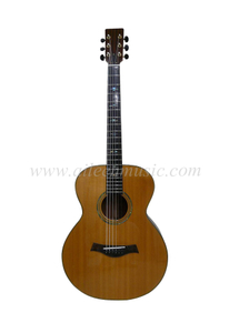 "40"" All Solid Wood Ebony Fingerboard Acoustic Guitar (AFH110)"