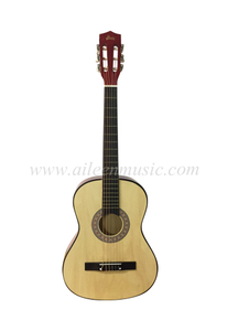 Small size Student Level Handmade 38'' Classic Guitar (AC38)