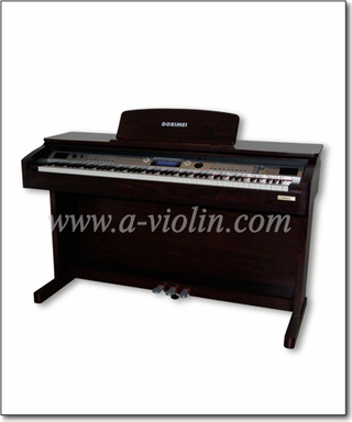 Black Digital Piano 88 Hammer Keyboard Upright Piano (DP609)