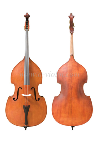 Hand Carved Spruce Top Gamba Shape Double Bass (GDB220)