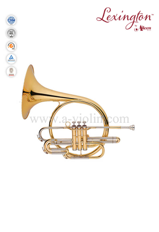 Piston Valves French Horn Music Instrument (FH7036P-G)