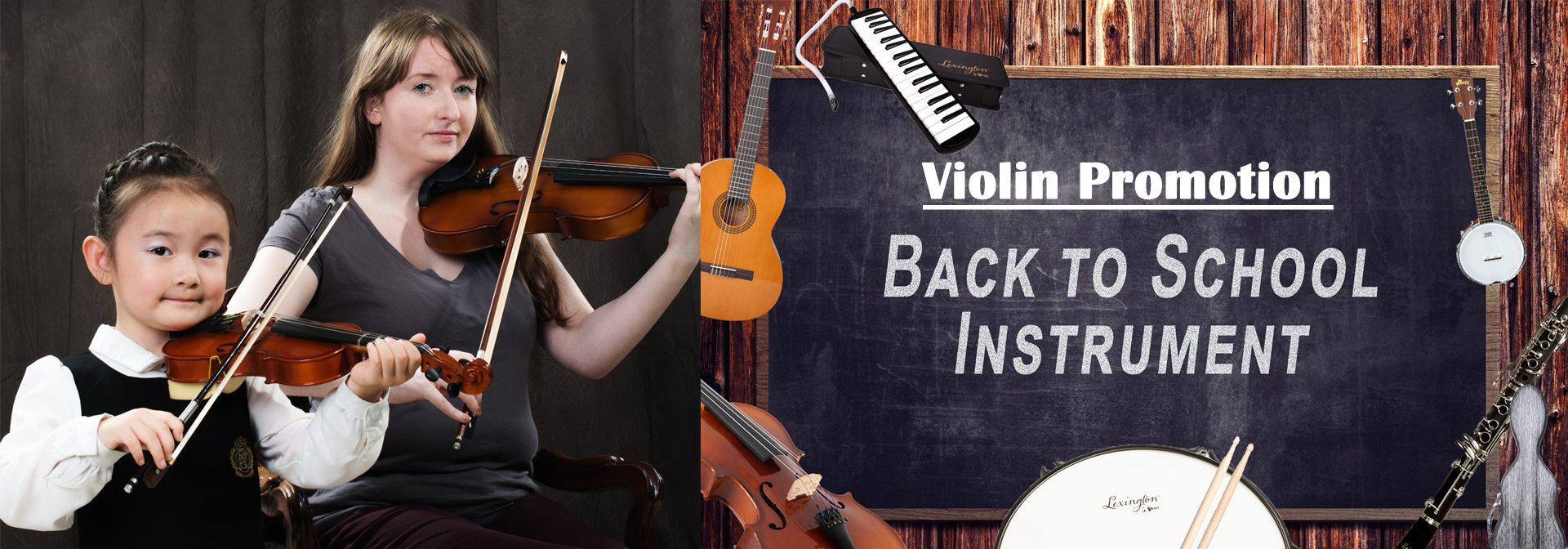2019Back to school violin promotion