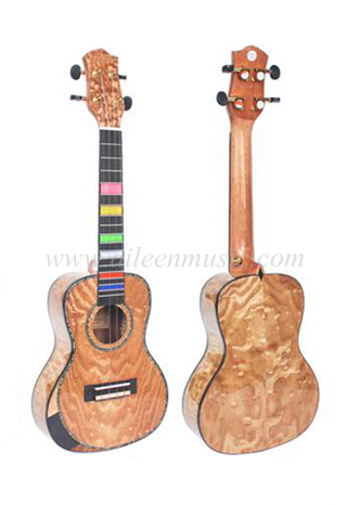 23 Inch Plywood Top High Quality Machine Head Beveled Armrest Ukulele (AU82L-BA-23)