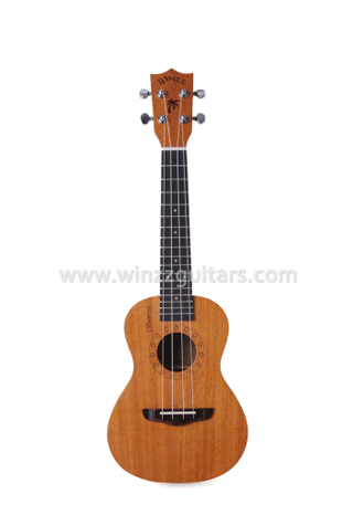 High density man-made wood Fingerboard Ukulele(AU07LH)