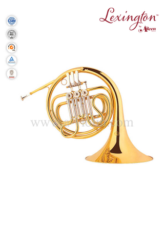 Standard 3-Keys Single French Horn Instrument (FH7037G)