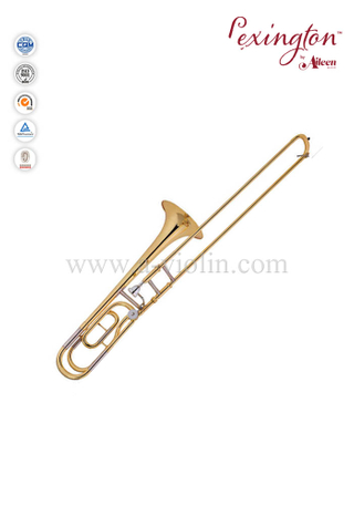 Y style Tenor trombone With ABS Case Or Soft Bag (TB9124G)