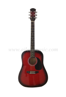 "41"" Dreadnought Color Acoustic Guitar (AF229)"