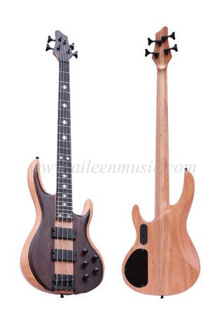 Okoume & Ash Body 4 Strings Electric Bass (EBS714-4)