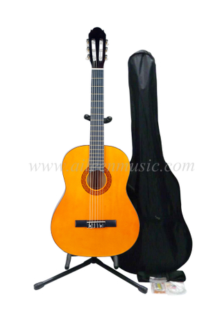 "Wholesale 39"" Beginner Classical Guitar Set (AC851-S)"