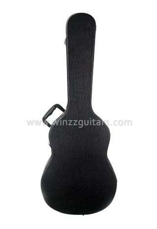 Quality Leather Exterior Wood Classical Guitar Hard Case (CCG410)