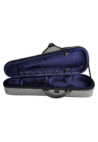 New Deluxe Foam Triangle Light Violin Case (CSV012B1)