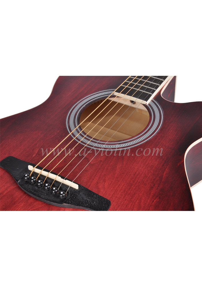 [Aileen] New Product 40 Inch Cutaway Acoustic Guitar (AF-H00LC)
