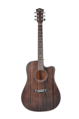 41'' New Acoustic guitar with High Quality Density Man-made wood Fingerboard and Bridge (AF386C)