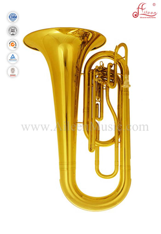 Stainless Steel Piston Bb Key Marching Tuba (MTU9620)