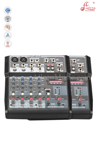 Professional Mono 8 Channles Mixer Digital Delay Mixing Console (AMS-F802)