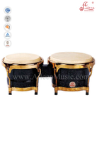 Black Wooden Bongo Drum (ABOLGS100)