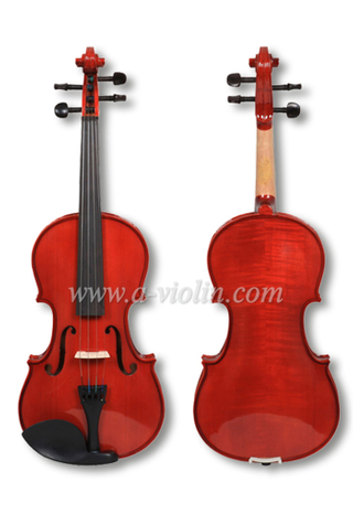 Metal Tailpiece Solid Spruce Top Student Violin Outfit(VG103)