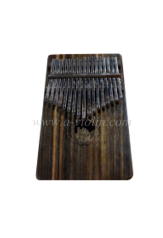 17 keys Ebony plywood body Kalimba with Bag (KLB86L-17)