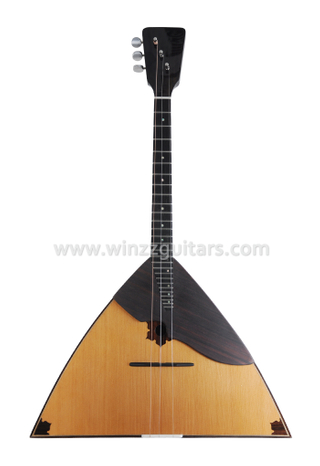 [WINZZ] Ethnic Musical Instrument Solid Wood Balalaika Wholesale (WBL2-A-H)