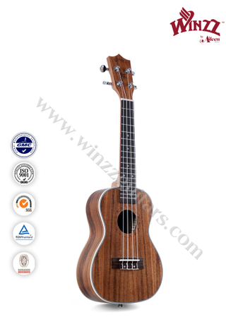 "21"" Soprano Koa Plywood Hawaii Ukulele (AU50L-21)"
