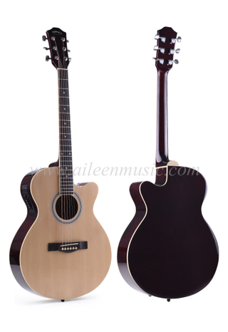 "40"" Advancing Student Cutaway Acoustic Guitar (AF238CE)"