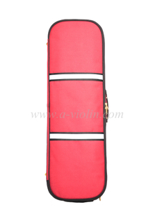 [Aileen] Red Color Oblong Shape Foamed Violin Light Case (CSV527A1)