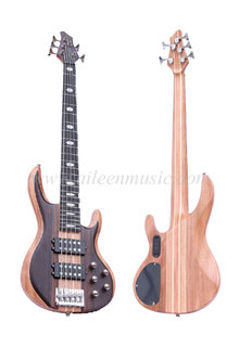 Okoume & Walnut Body 5 Strings Electric Bass (EBS715-3)