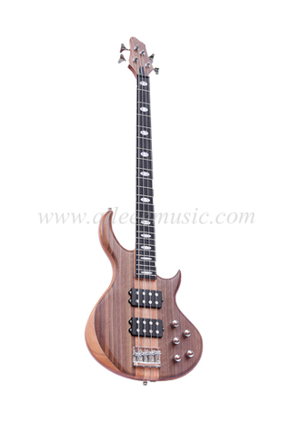Okoume & Walnut Body 4 Strings Electric Bass (EBS734-2)